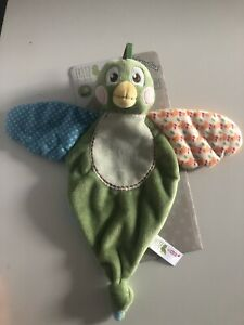 My First NICI Baby Comforter Soft Toy Fritz the Sparrow Plush 0m+