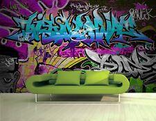 Graffiti Wall   Photo Wallpaper Wall Mural DECOR Paper Poster Free Paste