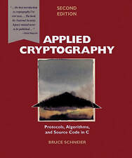 Applied Cryptography: Protocols, Algorithms and Source Code in C, Good Condition