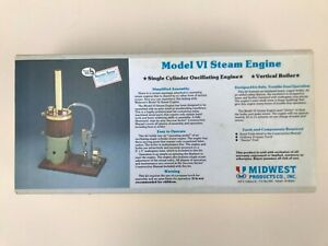 MIDWEST VI LIVE STEAM ENGINE KIT NO 980 - BOXED AND SEALED BAGS
