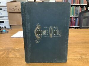 1892 Illustrated Salesman's Copy For The Works Of James Fenimore Cooper Scarce