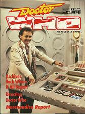 RARE Back Issue - DOCTOR WHO MAGAZINE #132 - Sylvester McCoy - Unearthly Child