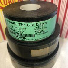 Disney's Atlantis The Lost Empire (2001) Trailer #1 Flat 35mm Movie Film Trailer