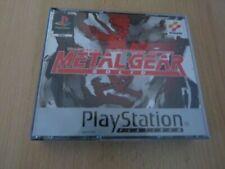 Videogiochi PAL per Sony PlayStation 1 Metal Gear Solid