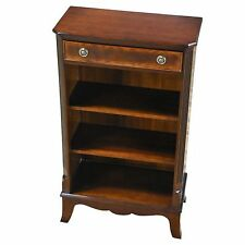 NSI133, Niagara Furniture, Narrow Mahogany Bookcase, Small Bookcase,