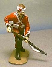 TOY SOLDIERS ZULU WAR BRITISH  24TH FT SOLDIER STANDING LOADING 54 MM