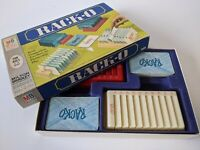 Vintage 1966 RACK-O Card Sorting Family Game Milton Bradley 4765 COMPLETE