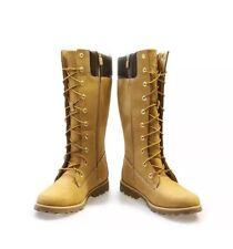 Adjunto archivo asqueroso cómo utilizar  Timberland 83980 Asphalt Trail Classic Tall Juniors Womens BOOTS Wheat Size  5.5 for sale online | eBay