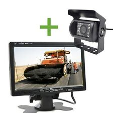 KIT RETROMARCIA WIRELESS MONITOR 7 POLLICI + TELECAMERA 18 LED CAMPER CAMION DS