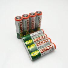 8pcs Hot sale original battery 1.2V NiMh GP aa HR6 3600 mAh battery