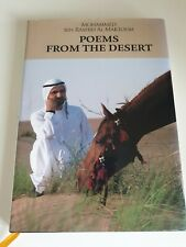 Poems from the Desert by Mohammed bin Rashid Al Maktoum Book Cheap Fast Free