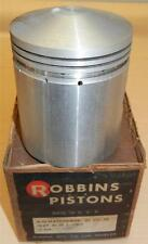 """1947-1961 Matchless G3 349cc 69mm +.060"""", 6.4-1 CR NOS Robbins bare piston ONLY"""