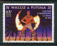 Wallis & Futuna 2017 MNH Fire Dance Cultures & Traditions 1v Set Stamps