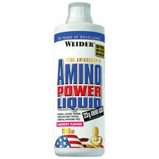 (29,30€/1Stk) Weider Amino Power Liquid 1 Liter; Cranberry Fitness Drink Muskela
