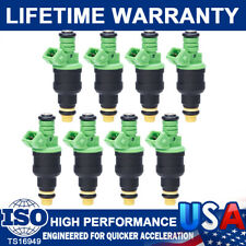 Set (8) New 42lb Fuel Injector For GM LT1 LS1 LS6 Mustang SOHC DOHC V8 440cc EV1