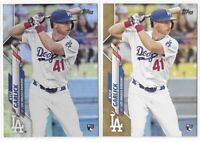 2020 Topps Series 2 Kyle Garlick Rookie SP Lot Rainbow Foil Gold /2020 No. 381