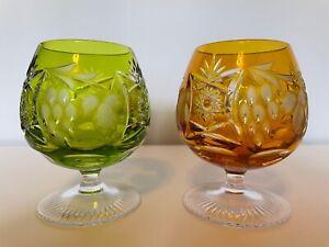 Gläsersortiment, Weinglas, Cognacglas, Buntglas, Likörglas