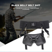 Big Game Fishing Fighting Gürtel Harness Taille Gimbal Stand Up Rutenhalter Sea