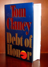 Debt of Honor by Tom Clancy ** Signed Edition** 1994 HC/DJ ** 2 3 4 5 6 7 8 9 10