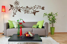 Flower Border - highest quality wall decal stickers