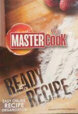 Master Cook Ready Recipe Easy Online Recipe Organization PC NEW SEALED #B11