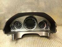 Mercedes W212 Compteur de Vitesse Tableau Bord Mph Classe E 350 CDI 2129005104
