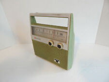 Vintage ?1960's-70's? Panasonic R-1397 AM 8 Transistor Radio GREEN! WORKS!