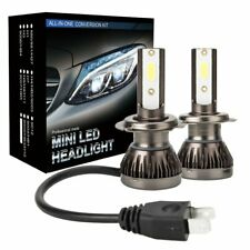 H7 Pair LED Headlight Bulbs 1960W 300000LM Conversion Hi/Lo Beam Super Bright