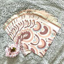 20 Designer Printed Poly Mailers 10x13 Shipping Envelopes Bags Rainbow Boho