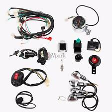Full Electric Start Engine Wiring Harness Loom 50 90cc 110cc 125cc Quad Bike ATV