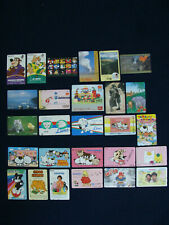 Misc. Japan Phone Cards - Qty. 27 - Used
