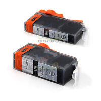 2x PGI520 Ink Printer for Canon MP540 MP560 MP980 MX870 IP3600 IP4600 Black AU