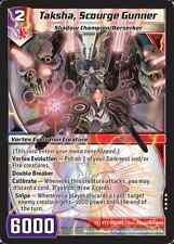 Kaijudo X1 TAKSHA, SCOURGE GUNNER Very Rare #158/160 15VTX FOIL Vortex 2014