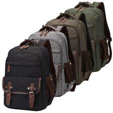 "Waterproof Men Women Small Rucksack 14"" Laptop Backpack School Bag Daypack"
