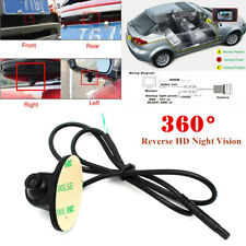 360° Reverse HD Night Vision Car Truck RV Rear/Front Side Rearview Mirror Camera
