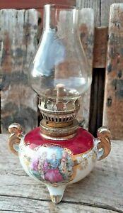 Unused oil lamp. Small oil lamp. Oil lamp. Collectable oil lamp. Kelly lamp. VGC