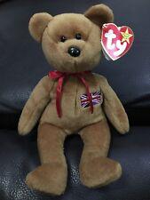9e51961b972 Ty Beanie Baby Britannia Royal Girl Bear - 15 Dec 97 RARE - Immaculate  Condition