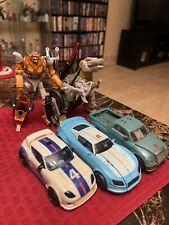 Transformers Lot BLURR JAZZ KUP BLASTER WARPATH STEELJAW WHEELJACK GRIMLOC