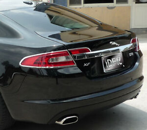 Jaguar XF 08-11 CHROME REARLIGHT TRIMS