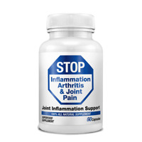 STOP Inflammation Arthritis & Joint Pain MSM Methylsulfonylmethane - AUST MADE