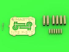 MASTER 72126 1/72 in metallo P-51D Mustang-Armamento & collimatore dettaglio Set