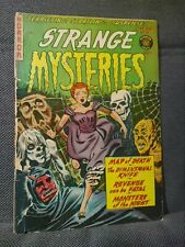 Strange Mysteries 10 (3/53). Used in SOTI. Only 33 in CGC Census