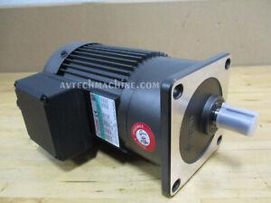 Sesame Motor Chip Auger G11V200U-5 3 Phase 230V/460V Ratio 1:5