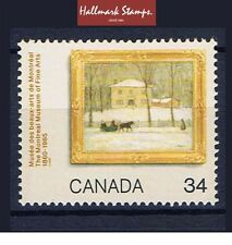 canada stamps 125th Anniv Of Montreal Museum of Art Old Holton sg1190... Mint