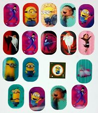 Minions/Despicable Me 3 Lenticular Cards/Shaking Pictures/Sticker Rewe