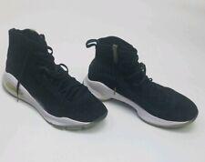 Under Armour Black w White Platform Size 9 Mens Tennis Shoes Sneakers 4501444644