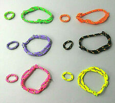 Huge lot with neon set 20 bracelets Wow Look I Love Heart boobies