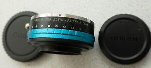 Fotodiox Pro Canon EOS - Fuji FX Mount Adapter