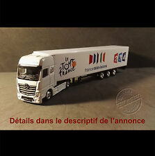 Camion Miniature France Télévision Tour de France 1/87 HO