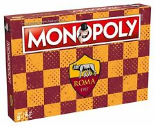 Monopoly AS Roma Calcio -Gioco da Tavolo- Hasbro, Winning Moves